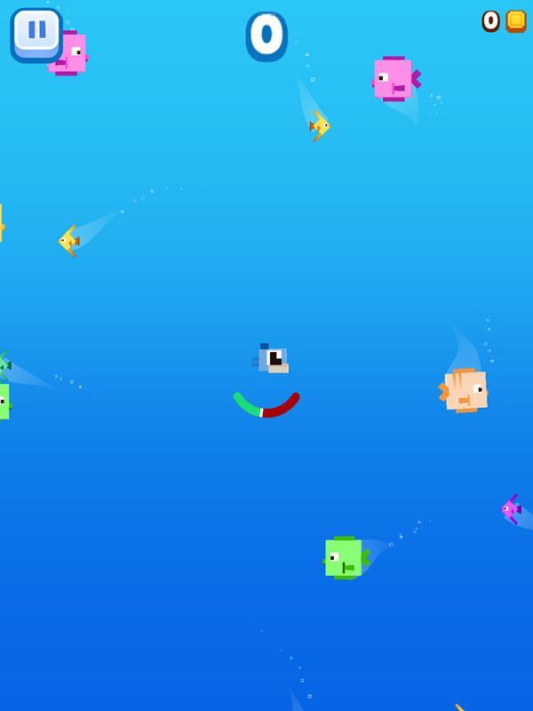 《像素鱼2》评测:差强人意的水中进食