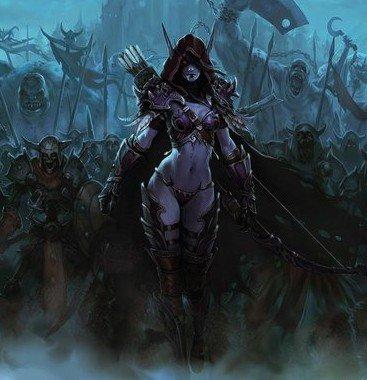 魔兽历史评书《黑暗女王》全集欣赏