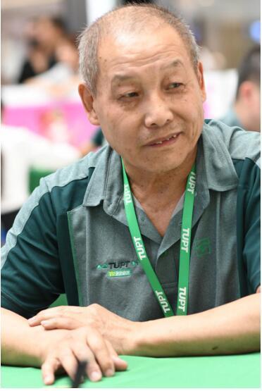 七旬老者现身途游锦标赛 享受竞技看淡名次