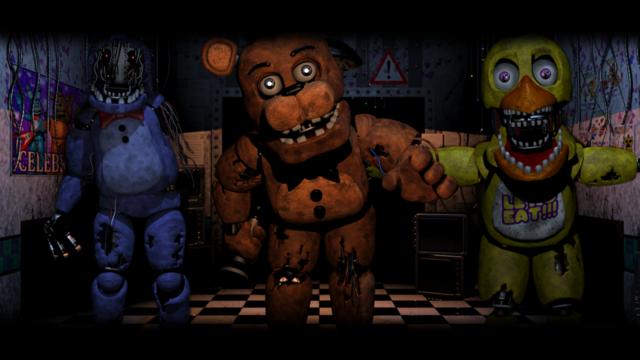 玩具熊夜午后宫5解说