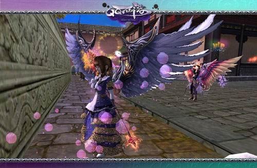 QQ西游周年庆携蓝钻贵族赠送绝版时装