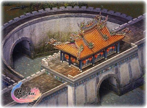 《月影传说》江湖势力