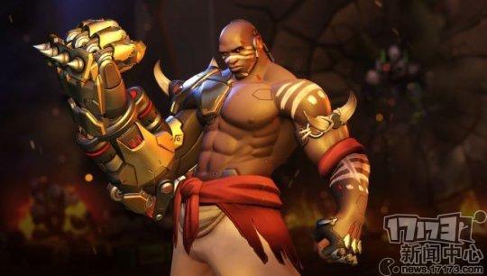 《守望先锋》末日铁拳皮肤秀 30年单身的麒麟臂