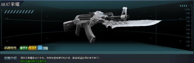 《生死狙击ol》最热武器