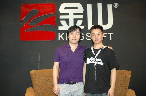 chinajoy专访:腾讯游戏专访金山刘希
