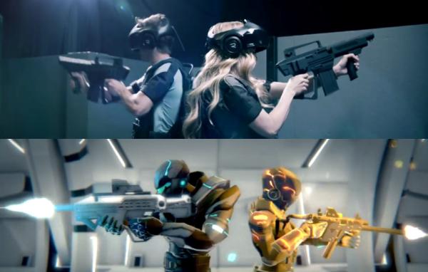 看完包你想玩! VR+实景等于真人在游戏中玩