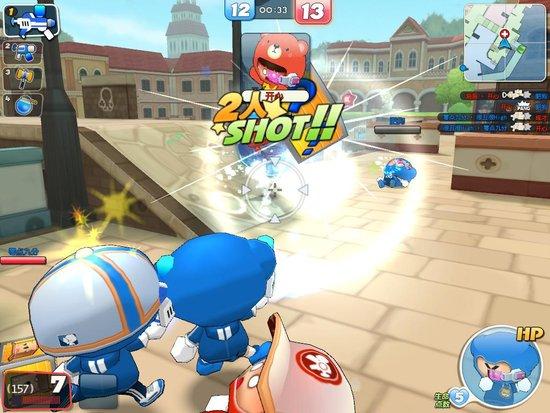 《泡泡战士》首测客户端17日开放下载