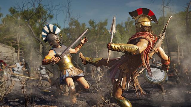 E3 2018:《刺客信条:奥德赛》细节公布 从放逐者成为斯巴达传奇英雄!