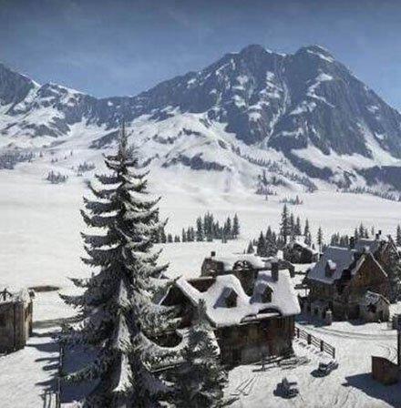 绝地求生雪天地图下半年与玩家见面