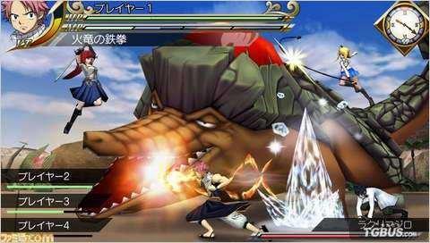 PSP《妖精的尾巴》下载