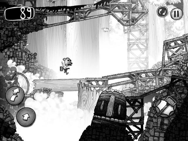 《Wormster Dash》评测:黑白画风中惊悚逃生!