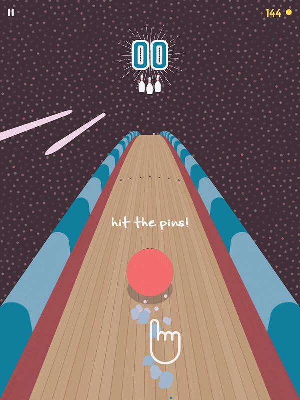 《国王保龄球》评测:另类保龄球跑酷!