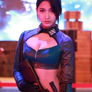 2015TGC嘉年华游戏展区COS大曝光
