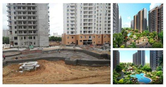 三和悦城东南亚风情园林开工布景 仅剩18套房源