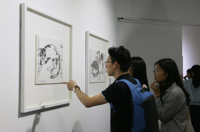 """""""猫眼——老彦作品展""""在红专厂开幕"""