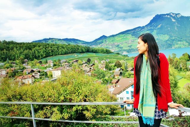 诗意栖息地 在阿尔卑斯山的阳台