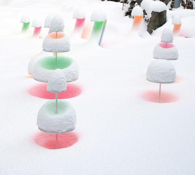 在漫天大雪里发出的艺术讯息