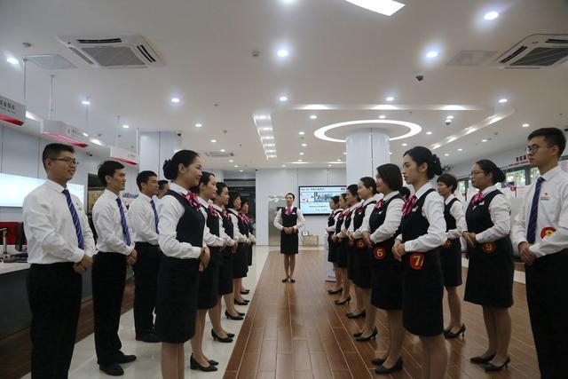 湛江工行举办示范网点服务PK赛