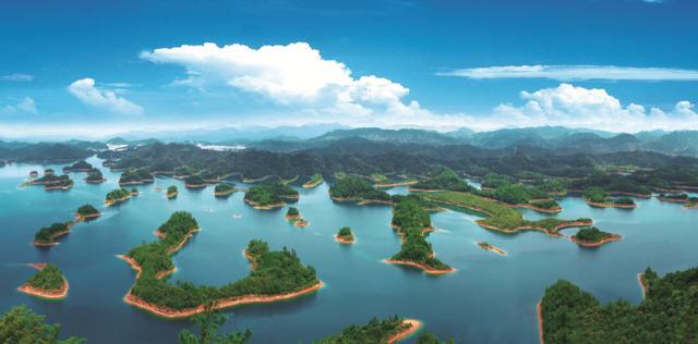 千岛湖风景区高清图片