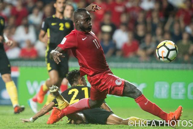 亚洲杯外围赛首胜 中国香港2:0马来西亚
