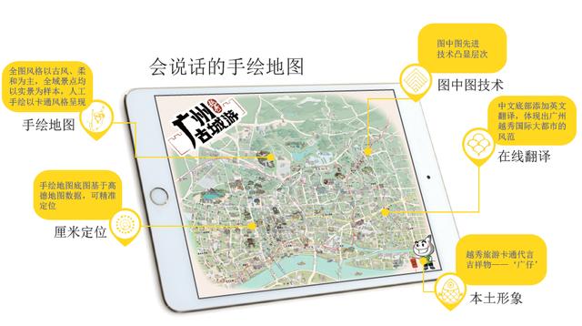 """全国首款""""会说话的电子手绘地图""""上线!"""