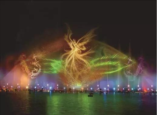清远北江拟建198米高喷泉 可观赏水幕电影