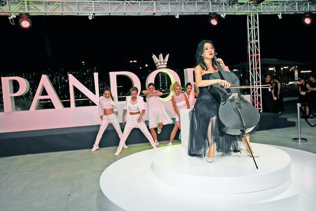 PANDORA新品发布酒会 众香港艺人率先预览