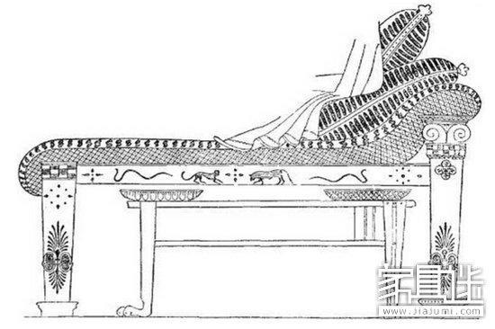 西方古典家具:古希腊家具自然之美图片