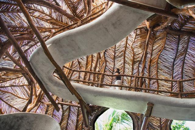 佩姬·古根海姆的孙子在墨西哥创造了一座藤木编织的画廊 IK LAB