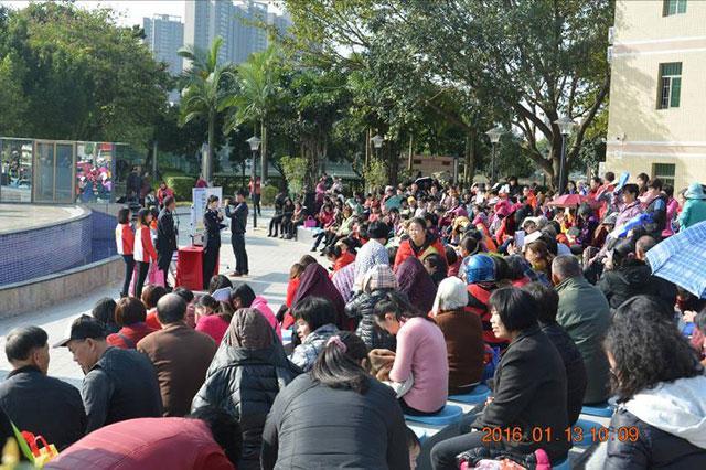广州市增城区举办禁毒宣传进千家万户活动