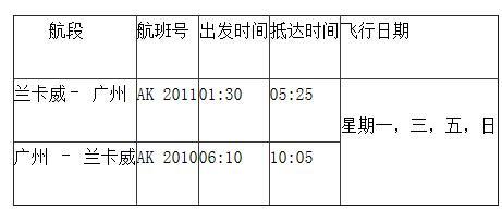 亚洲航空隆重庆祝广州-兰卡威正式通航