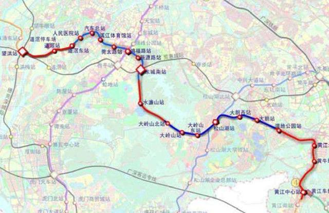 东莞地铁1号线预计年内开工 途径十个镇街图片