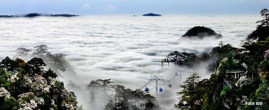 井冈山风景区高清图片