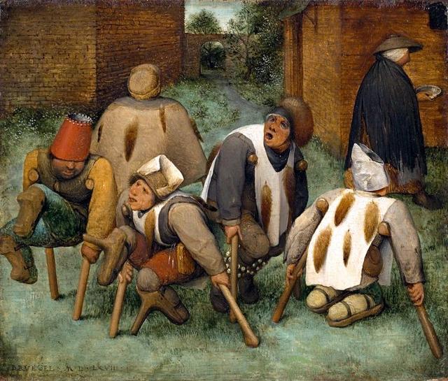 谜团重重的《乞丐们》