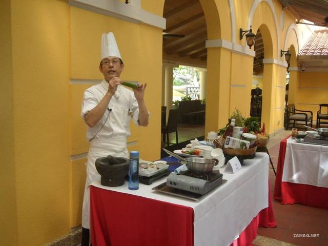 泰馔太赞 跟酒店泰国菜总厨学烹饪