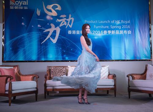 皇朝时尚林志玲回收宝鸡家具家私东莞展香港亲临电话女神图片