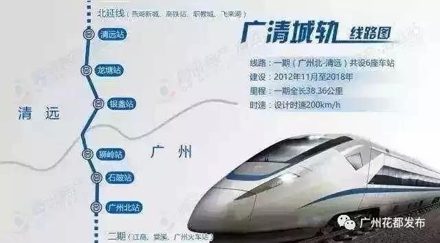 广清城轨预计明年开通,时速200公里,始发广州北站!---大牛证券