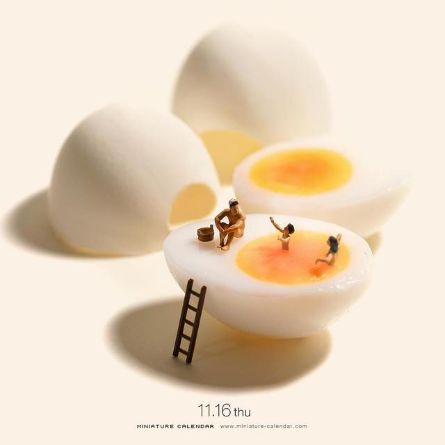 日本微缩摄影师Tanaka Tatsuya的新作