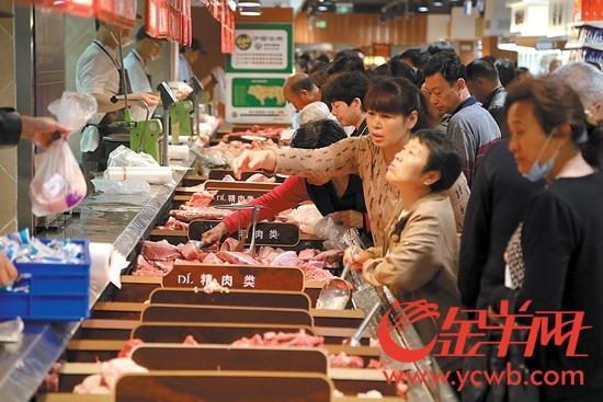 广东猪肉单价日均降0.1元 即将踏入8元时代