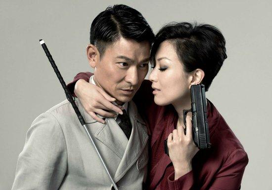 郑秀文主演的《盲探》在广州举行_发型设计
