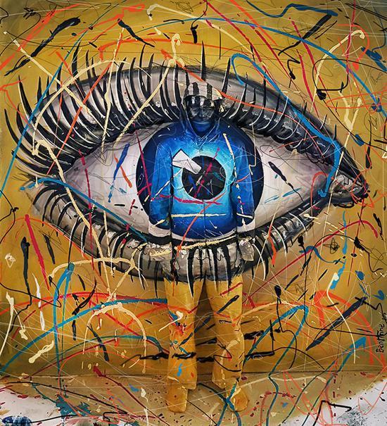 考考你的眼睛!能否找到艺术品中的人