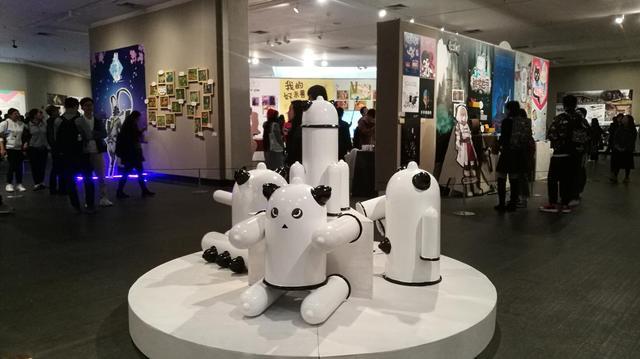 广州美术学院城市学院2017毕业汇报展正在展出