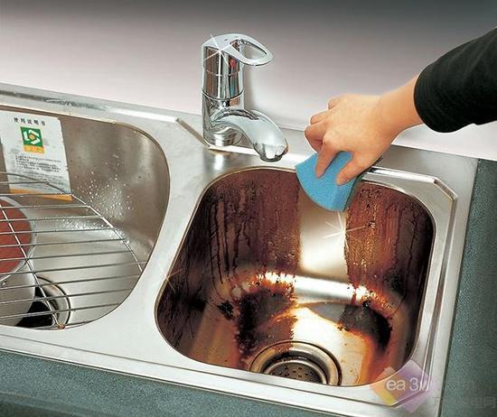 新年远离污垢 厨房清洗秘诀图片