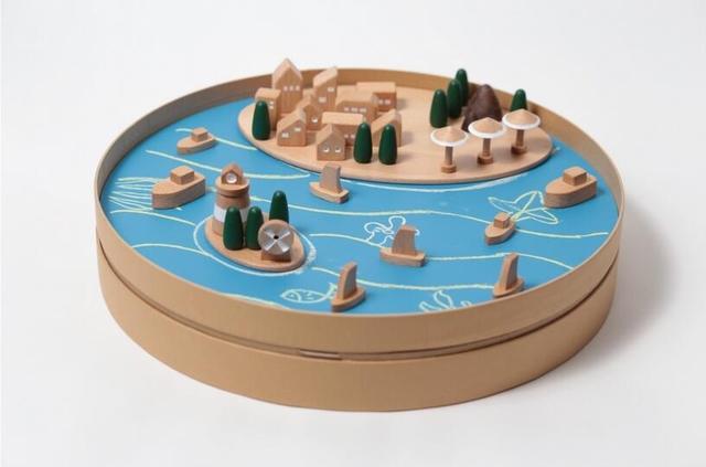 小小规划师——积木黑板玩具设计