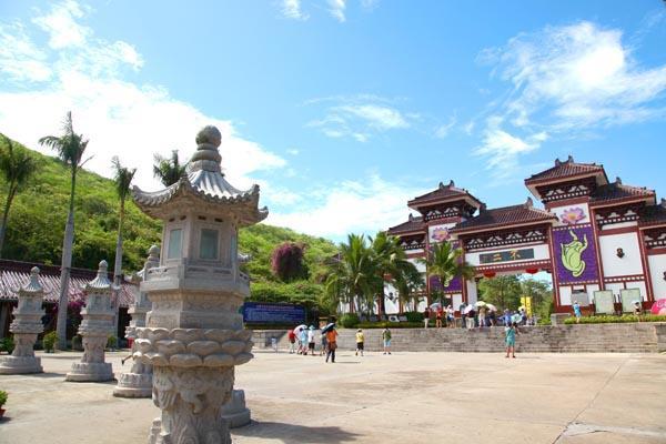 爱旅游:面朝南海 三亚南山文化旅游区