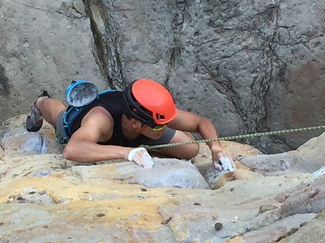 山系挑战 在险峻寻找平静