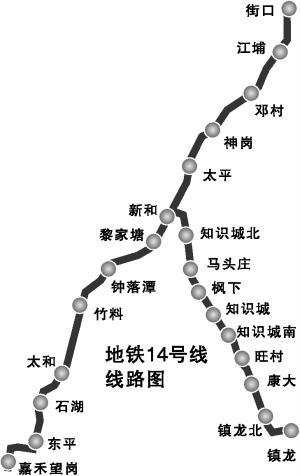 广州地铁14号线高架段开工 到时到从化只要1小时图片