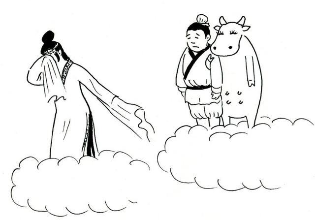 七夕纪手绘海报