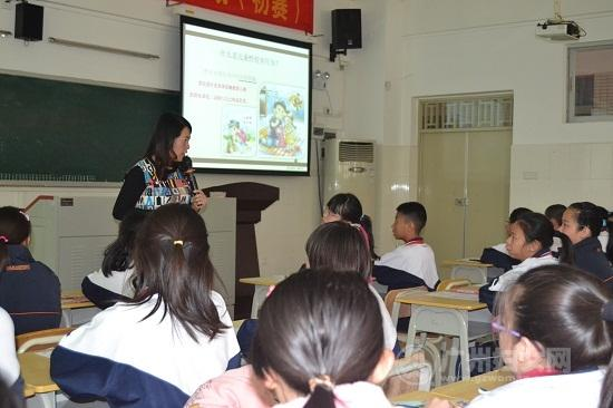 女童防护教育宣讲团在南州小学开展宣讲活动
