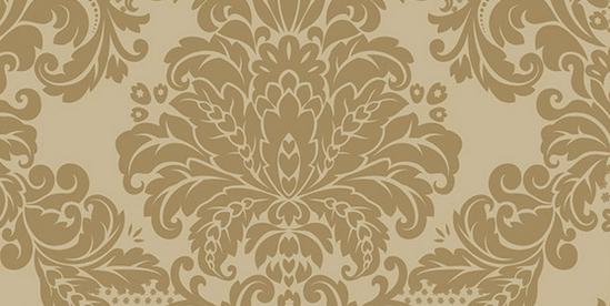 四,欧式田园风格壁纸 欧式田园风格也是广受欢迎的壁纸,田园小花点缀图片